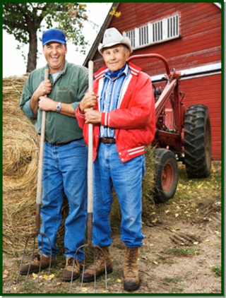 Farmer dad and son 3-19