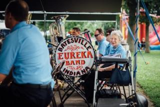 Batesville Indiana town band 7-19