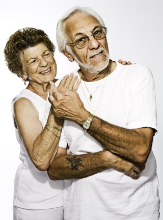Older couple in white 10-19