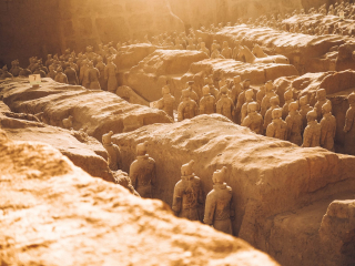 Army of Terracotta Statues 8-18
