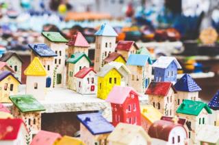 Miniature house arrangement 2-19