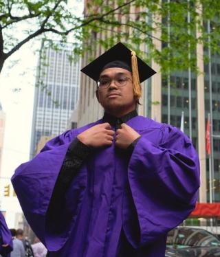 Black male college graduate cropped 6-19