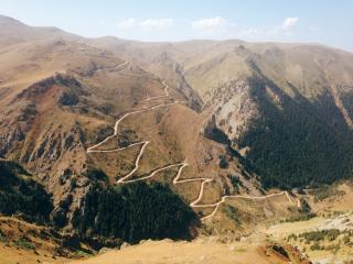 Mountain switchback roads 8-18